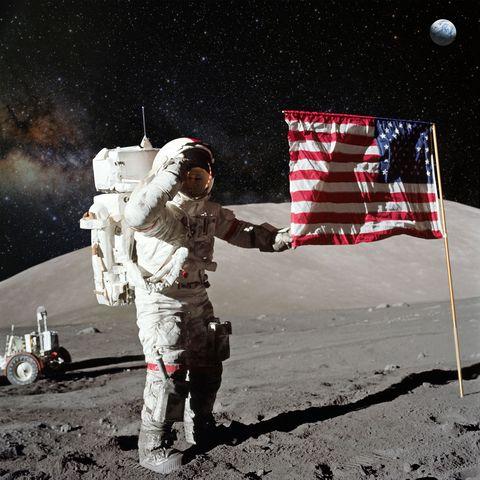 Was de maanlanding echt?