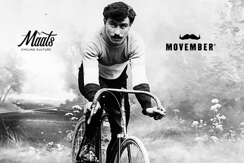 Maats, movember, fietsen, wielrennen, bicycling, Bicycling NL