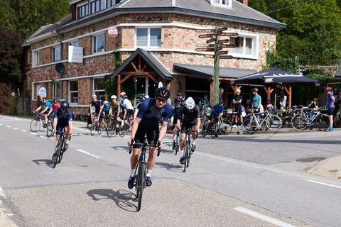 Met je fietsmaten naar de Ardennen
