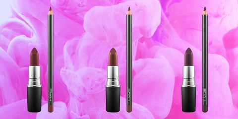 Purple, Pink, Product, Beauty, Violet, Cosmetics, Material property, Eye liner, Lipstick, Tints and shades,