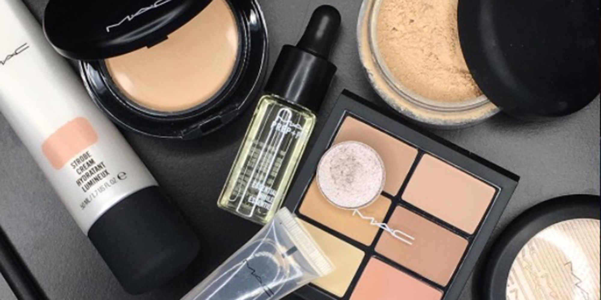 This combination of MAC products will give you the glowiest skin ever