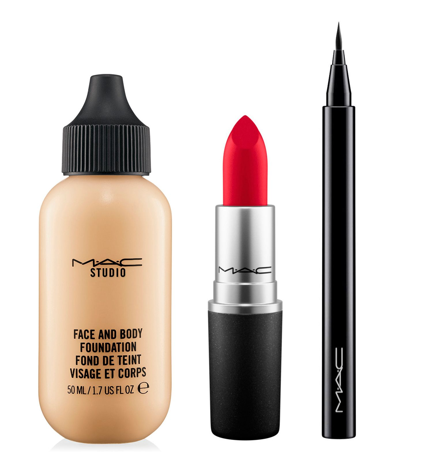 MAC makeup artists recommend the best products