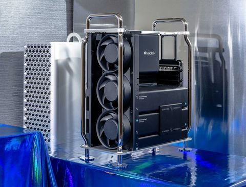 Mac Pro photographed at Apple in CA in October 2019.