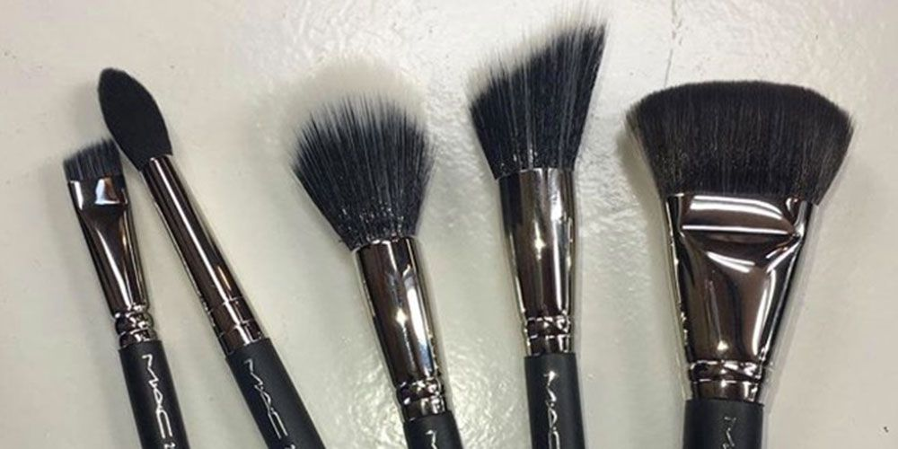 Mac Synthetic Makeup Brushes Is