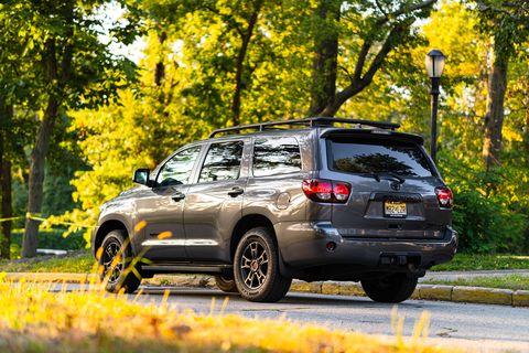 Toyota sequoia trd pro 2020 года выпуска