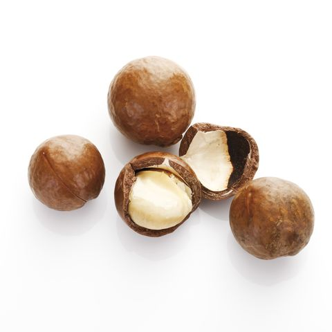 macadamia nuts,, elevated view