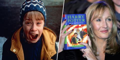 Macauly Culkin y J K Rowling