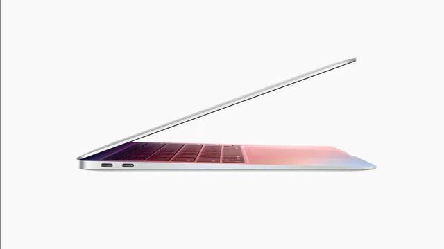 el nuevo portátil macbook air de apple con el nuevo procesador silicon m1