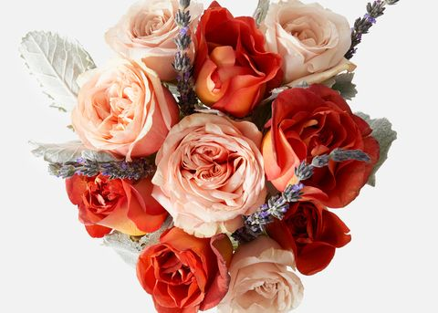 Flower, Bouquet, Garden roses, Cut flowers, Rose, Red, Plant, Rose family, Floribunda, Flower Arranging,