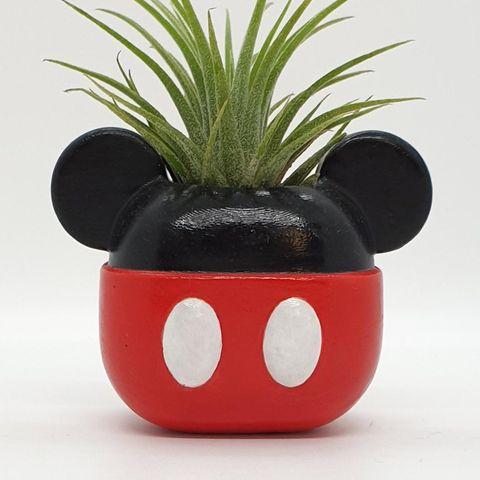 maceta de mickey mouse