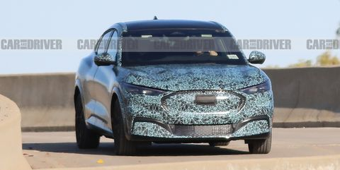 Ford's Mach E Electric SUV Spied Looking...Interesting