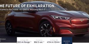 Ford Mustang Mach-E - filtrado