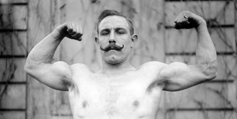Muscle, Barechested, Arm, Bodybuilding, Chest, Photography, Black-and-white, Trunk, Physical fitness, Jaw,