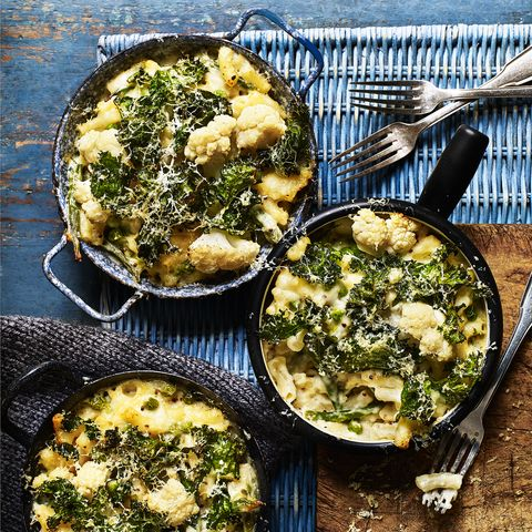 mac'n'greens recipe