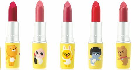 「mac x kakao friends 」聯名時尚專業唇膏