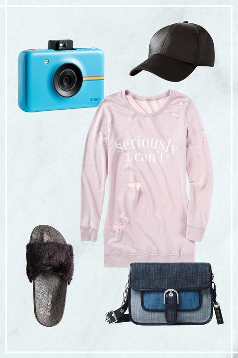 Camera, Photograph, Cameras & optics, Shoulder, Product, Turquoise, Pink, Fashion, Bag, Digital camera,