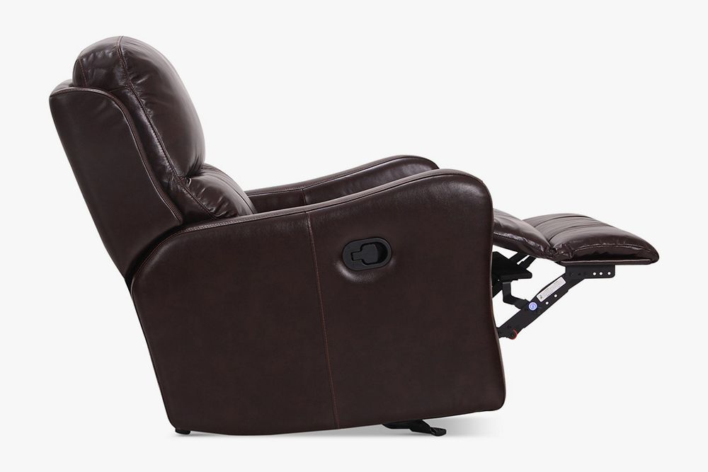 Macyu0027s Oliver Leather Power Recliner