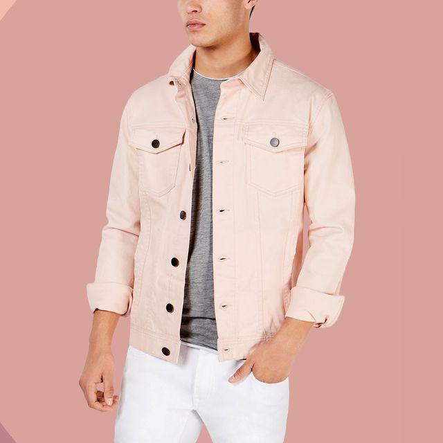 Clothing, White, Collar, Outerwear, Jacket, Sleeve, Pink, Pocket, Coat, Fashion,