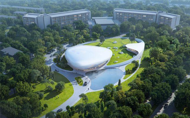 aranya cloud center en china de mad architects