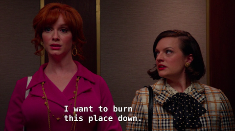 Mad Men Peggy and Joan