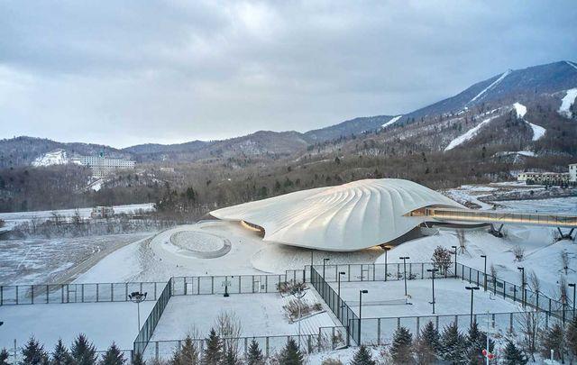 centro de conferencias de empresarios de china de mad architects