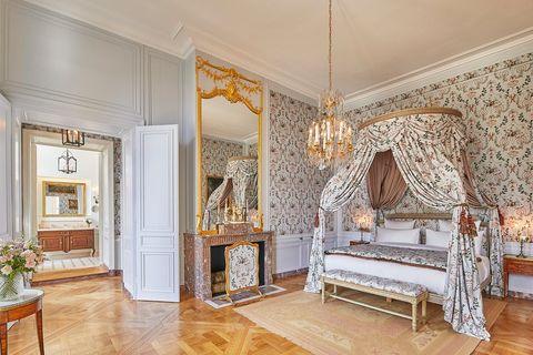 kamer madame de fouquet in airelles château de versailles, le grand contrôle