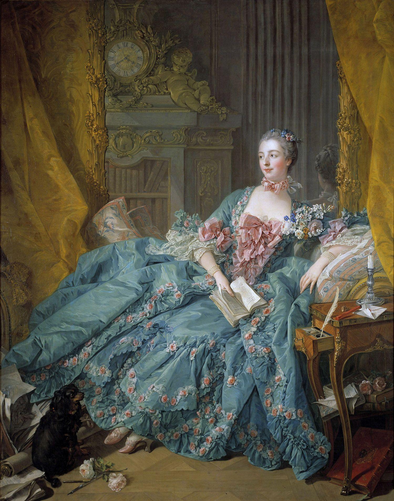 La vita di corte della leggendaria Madame de Pompadour