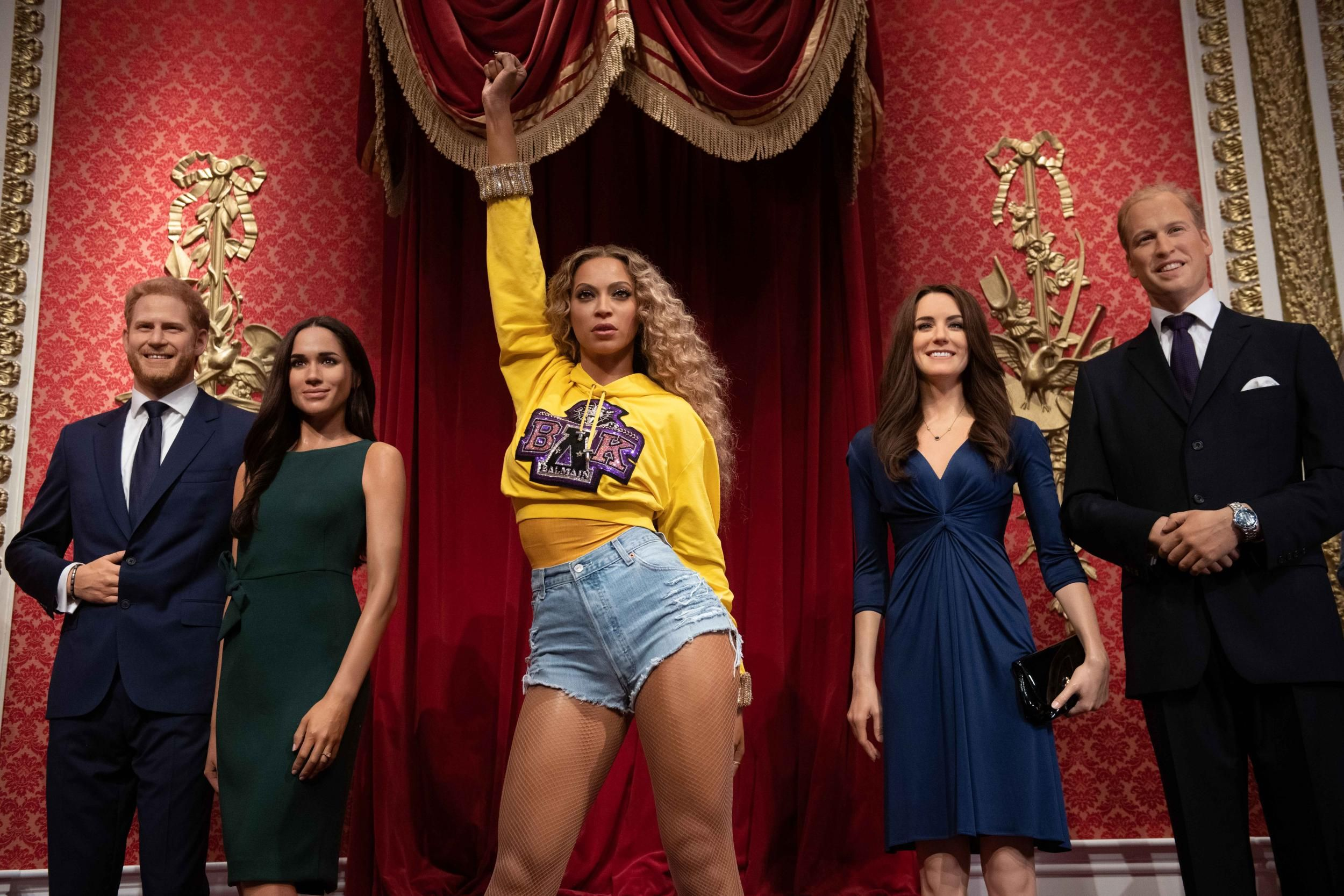 Beyoncé Takes Her Rightful Place Amongst the Royals at Madame Tussauds