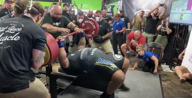 maddox 800 pound attempt
