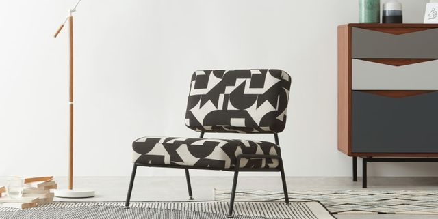 made accent armchair
