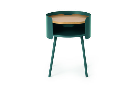 made essentials ooty bedside table, teal £99