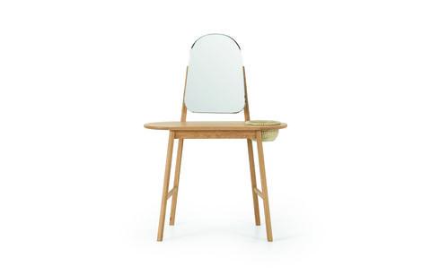 pipel dressing table, natural oak  rattan £199
