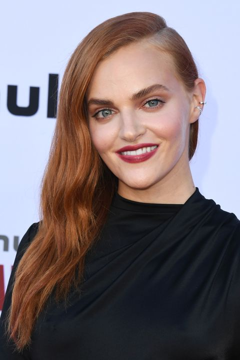 "madeline brewer winter hair colors Hulu's ""The Handmaid's Tale"" Celebrates Season 3 Finale - Arrivals"