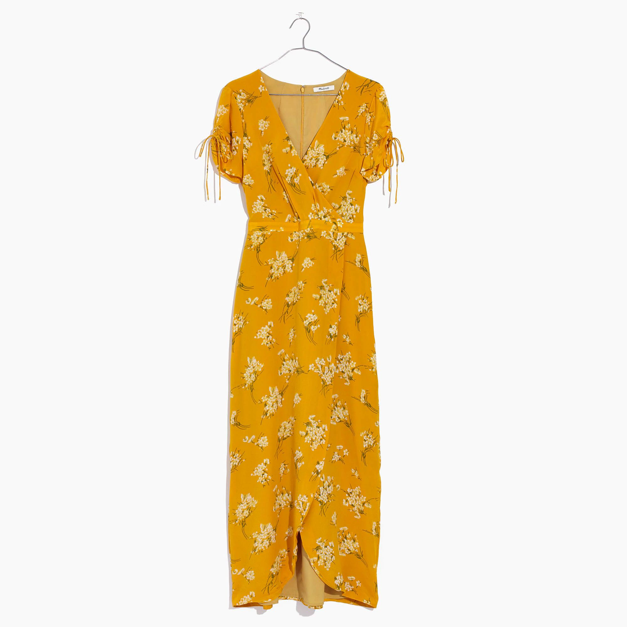Madewell maxi wrap dress
