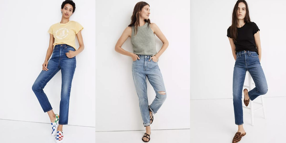 Madewell's Bestselling Jeans Are Only  Right Now