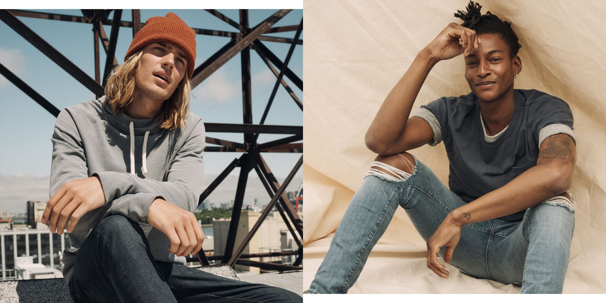 J.Crew's Younger, Denim-Centric Sibling Just Launched Menswear