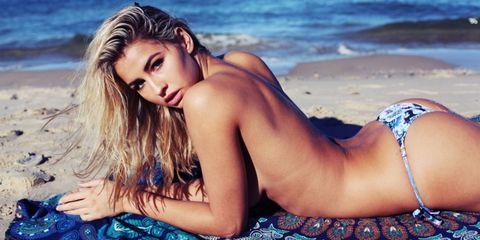 Beauty, Model, Bikini, Photo shoot, Summer, Swimwear, Photography, Long hair, Surfer hair, Sea,