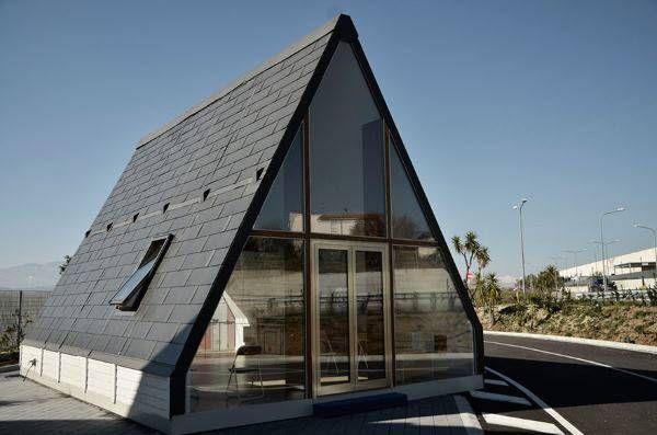 la casa plegable hecha en italia que se monta en 6 horas y que nos puede cambiar la vida