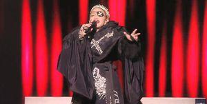 Madonna actuación Eurovision