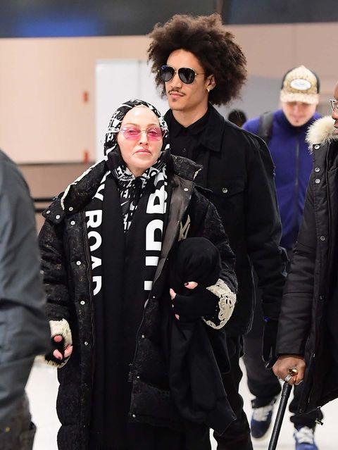Madonna junto a su nuevo novio