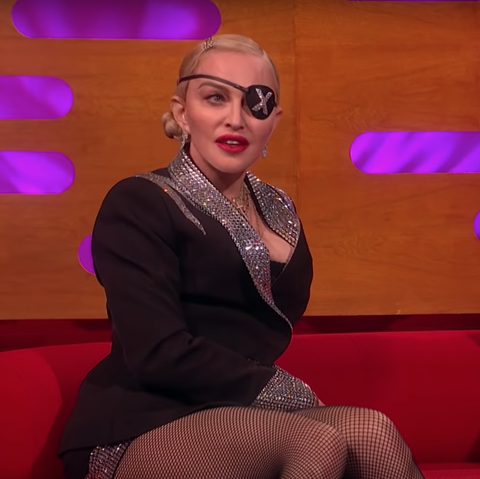 Madonna cheekily calls out one of her famous ex-boyfriends on The Graham Norton Show