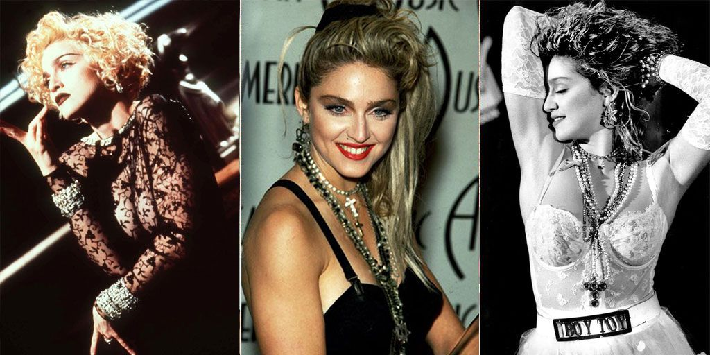 Madonnas 60th Birthday Madonnas Most Iconic Fashion Moments