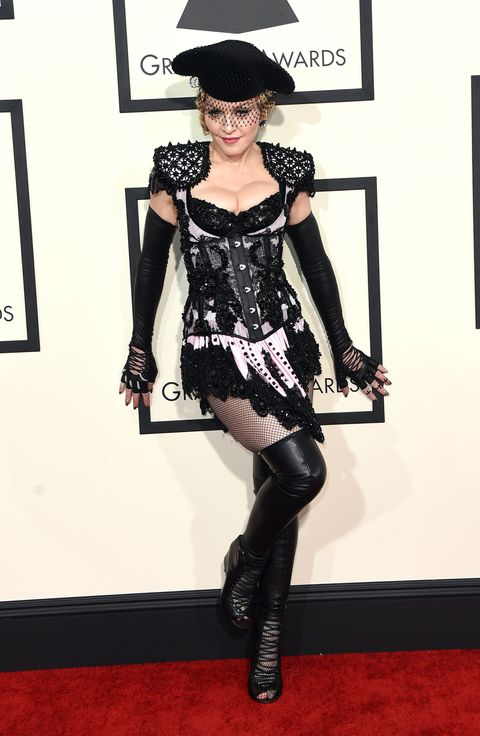 Scandalous Grammys Red Carpet Fashion Revealing Dresses