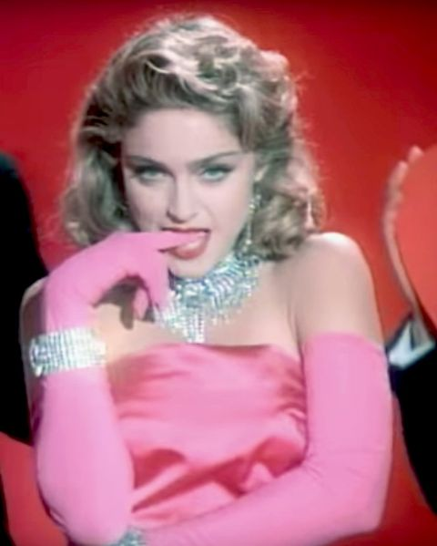 Madonna Material Girl video