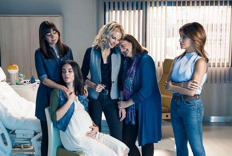 las protagonistas de madres, la nueva serie de amazon prime video