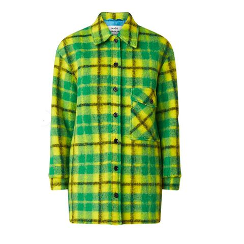 Oversized wollen shirt