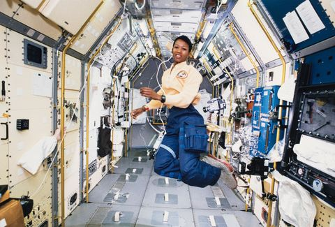 mae jemison, the first african american woman in space