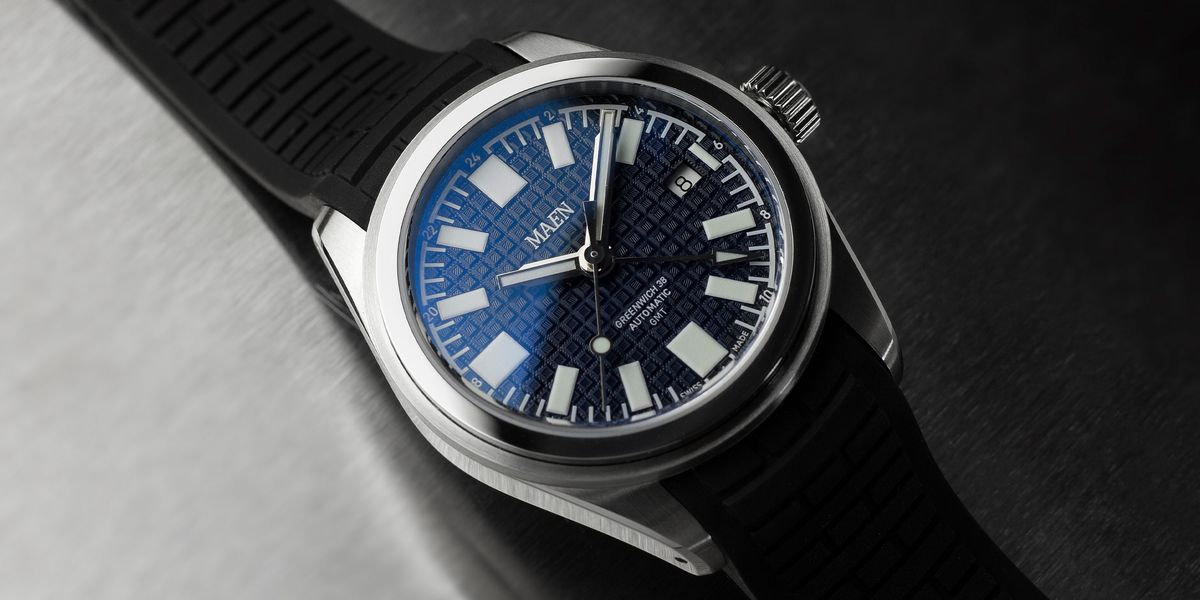 This Affordable Travel Watch Is a Refreshing Take on the GMT