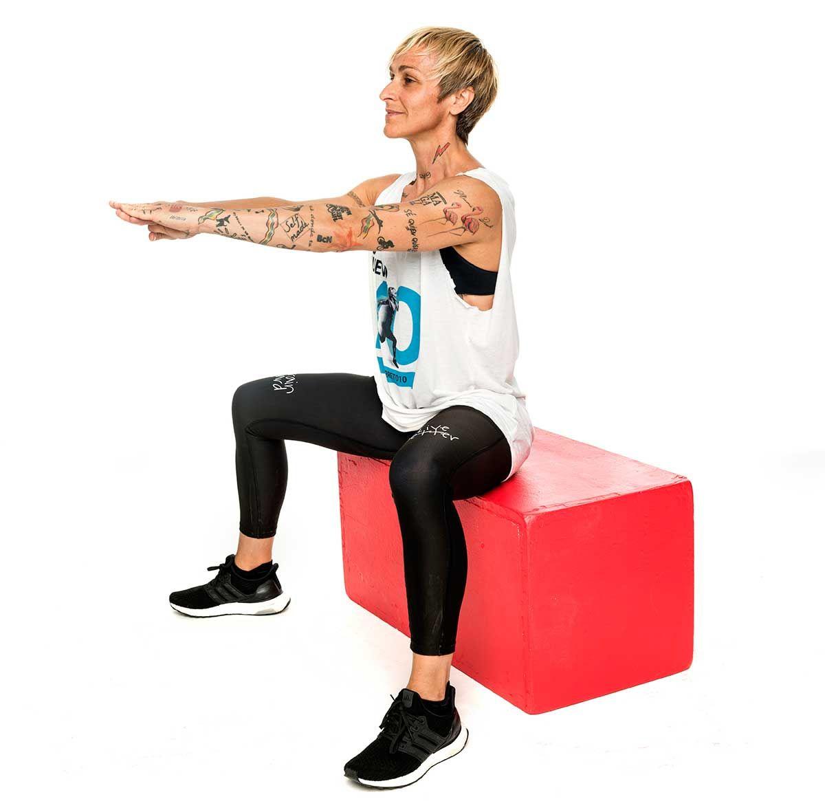 Ana Duato Piernas endurece tus piernas con estos 3 ejercicios que propone