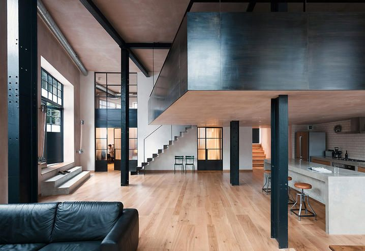 La Cabina London : Restyling project in london former warehouse turns into a loft